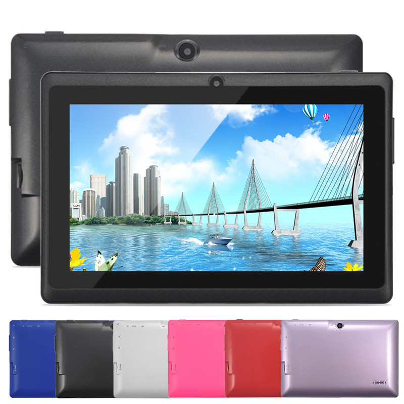 """Cheap Tablet PC 512+ 8GB Multi-Color 7"""" Android 4.4 Allwinner A33 Quad Core 1.5GHz Android Tablet Free Shipping(China (Mainland))"""