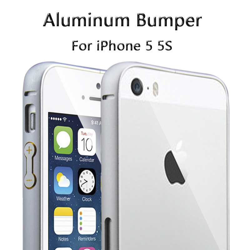 Чехол для для мобильных телефонов Aluminum Bumper Case For iPhone 5 iPhone 5 5S For Apple iphone 5 5S s what ultra slim aluminum alloy bumper frame case for iphone 5 5s grey