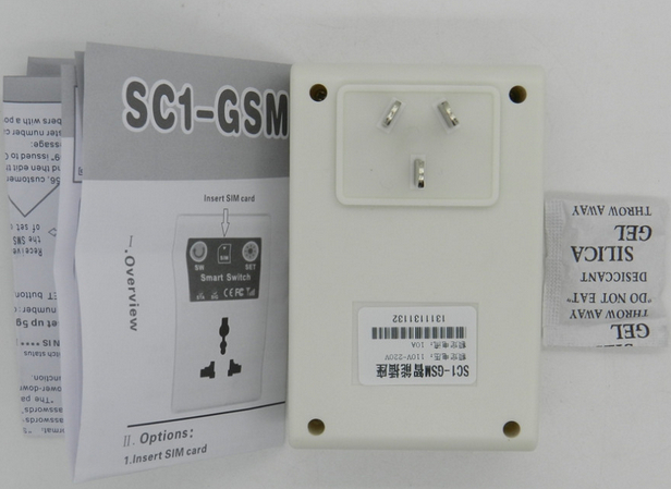 New Arrival GSM Phone PDA Remote Socket Control Power Switch Free Shipping(China (Mainland))