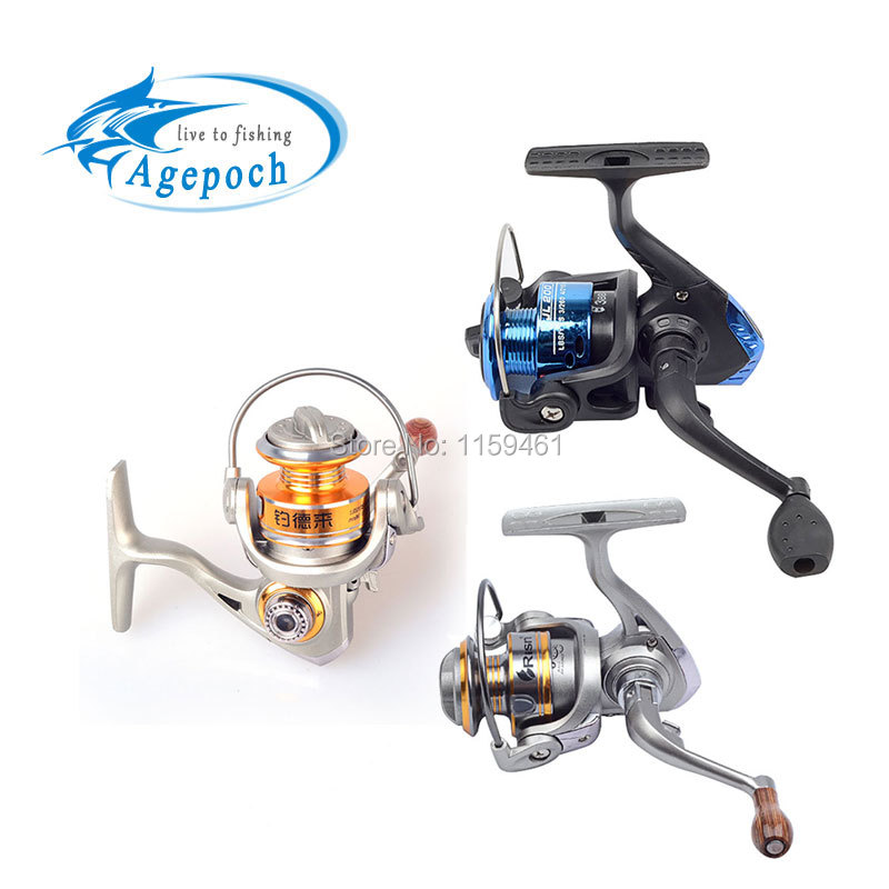Agepoch 8 BB Spinning Spin Drag Cheap Tackle Surf Fishing Reel Feeder Carp Cast China Equipment Gear Sea Spool Peche Ice Wheel(China (Mainland))