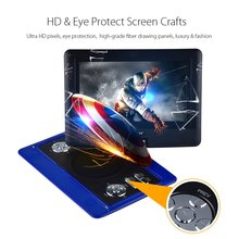 """DBPOWER 10.1"""" Portable DVD Player with Swivel Screen Supports SD Card USB Play in Formats MP4/RMVB/MP3/JPEG Home Theatre System(China (Mainland))"""