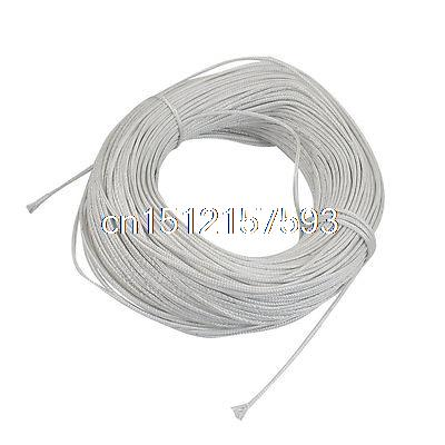 100 Meters White Plastic Braided Thermocouple Extension Wire<br><br>Aliexpress
