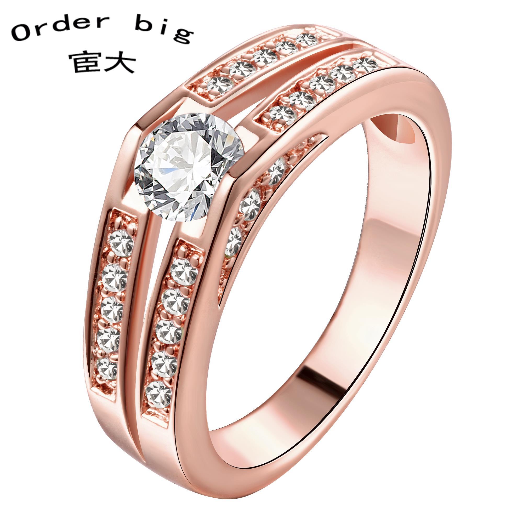 R183-a-8 // золото кольца, Ювелирные изделия кольца