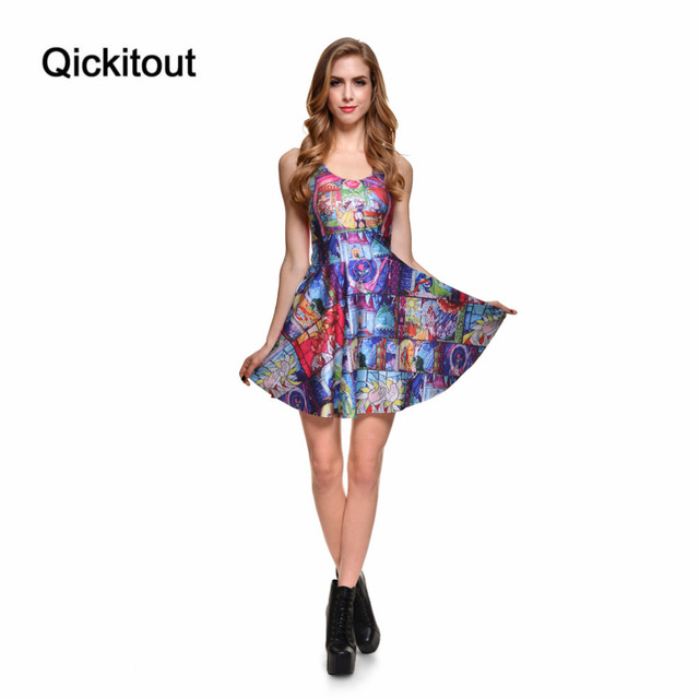 Прямая поставка новое 2014 сексуальных женщин свободного покроя платье сказка как ...