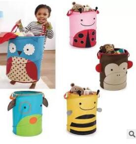 us Skip cute animals receive bag Receive barrel baby laundry basket bin storage toy sales promotion - xxschyllwyl store