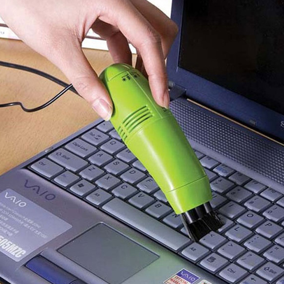 2015 Hot selling!!!Computer Laptop PC Keyboard USB 2.0 blue Vacuum Cleaner VC265 P(China (Mainland))