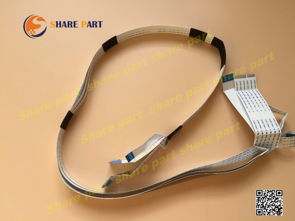 1 set X printhead cable For Epson L800 L801(China (Mainland))