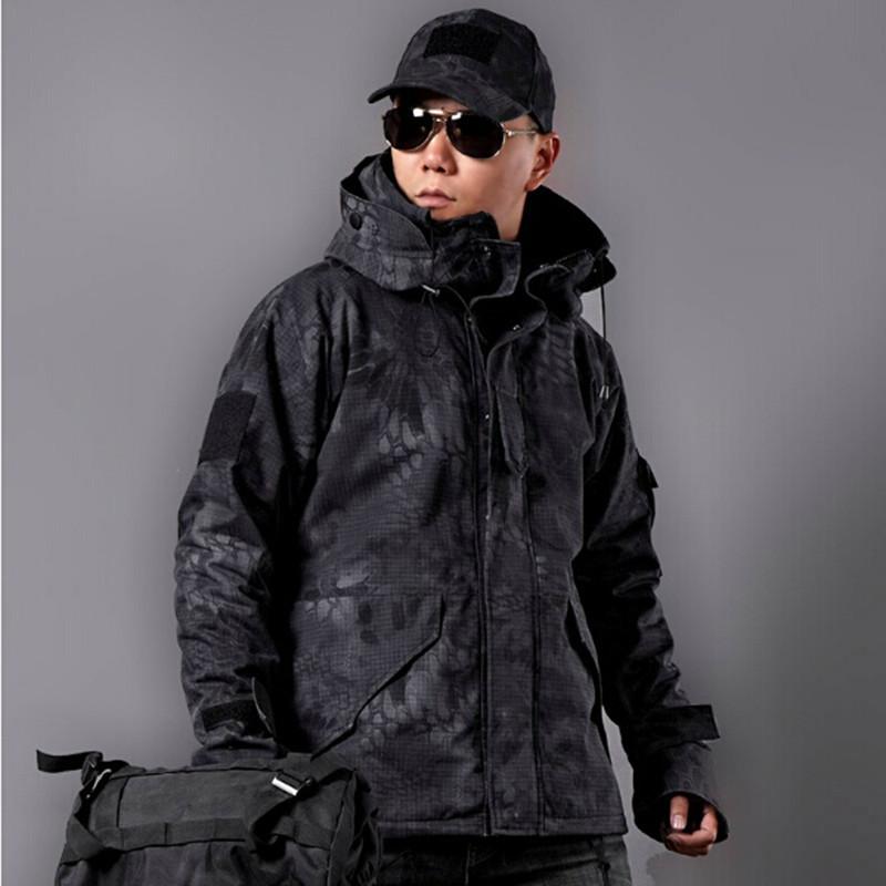 Army Military Fans Clothing Cobra G 8 Python Camouflage Coat Tactical Camouflage Fleece Jacket Python Jackets(China (Mainland))