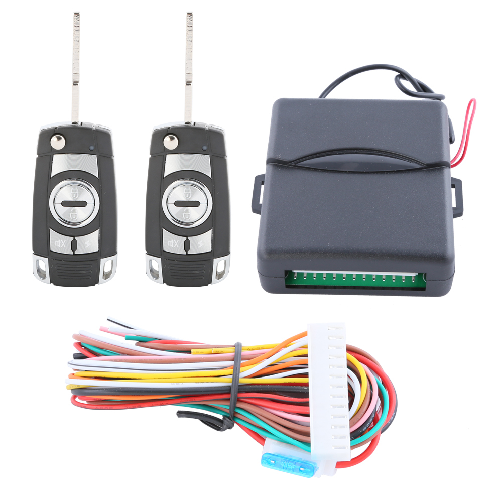 Cool design! Keyless entry kit remote lock unlock, remote trunk release and electronic lock/pneumatic lock(China (Mainland))