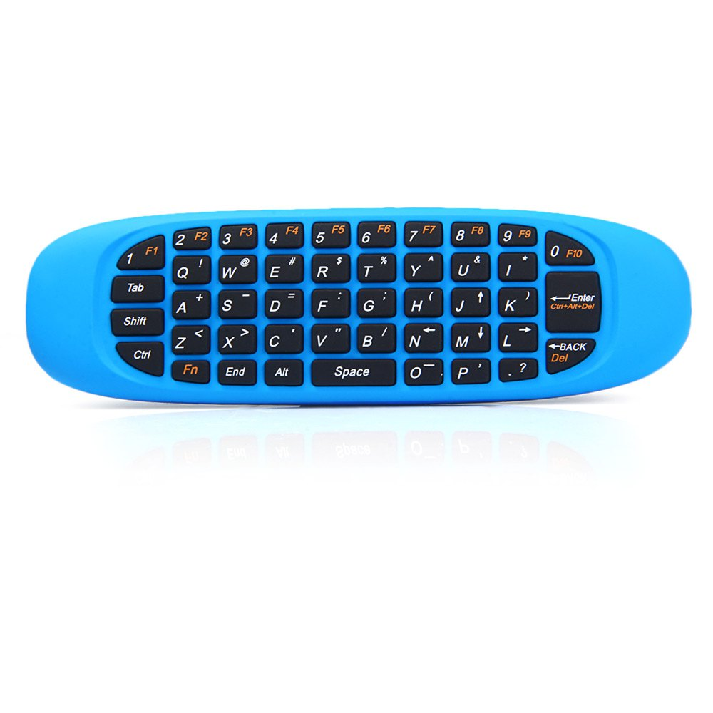 Excelvan C120 Three-in-One 2.4GHz Blue High Quality Air Mouse QWERTY Keyboard Remote Controller for HDTV Computer Android(China (Mainland))