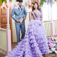 2016 new free shipping wedding dresses sexy women girl good wedding dress gown sy52(China (Mainland))