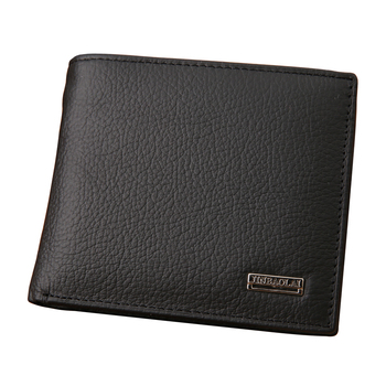 New 2015 euro genuine leather men wallets famous brand men wallet male black coin purse ID card dollar bill wallet