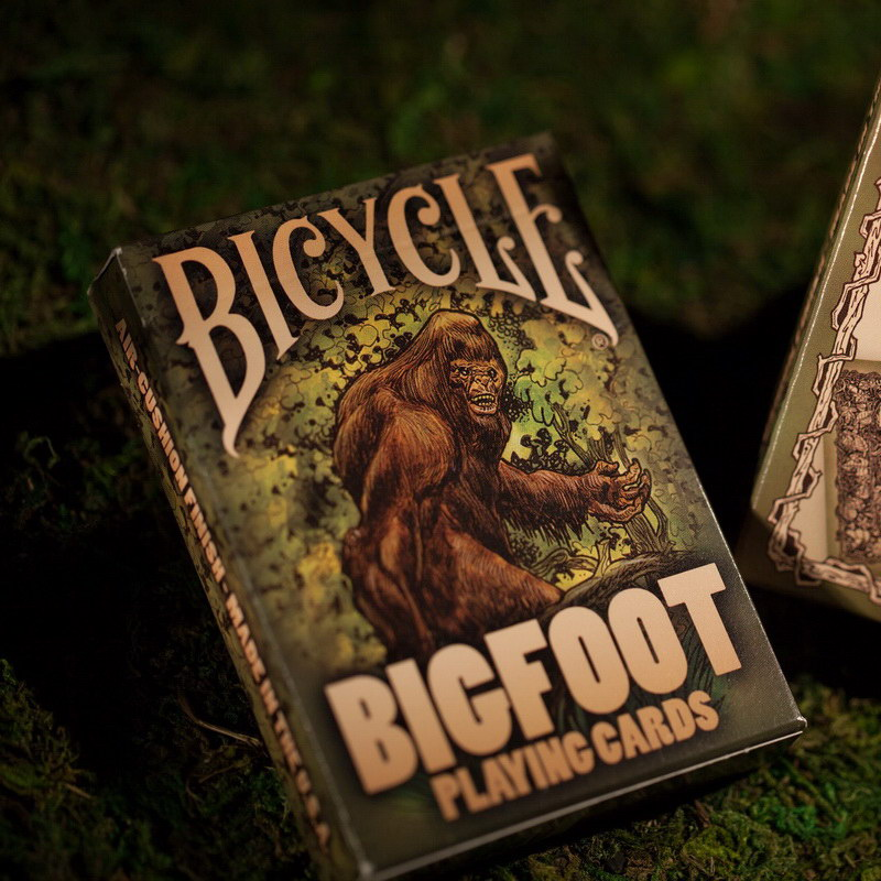 Hot SaleBicycle Bigfoot Playing Cards Poker Magia Deck Magic Props High Quality Funny Toys(China (Mainland))