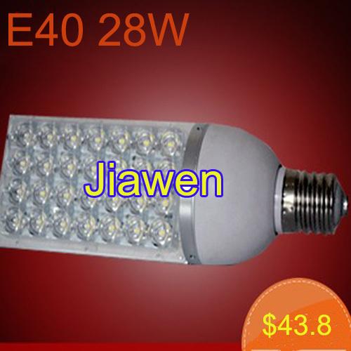 8pcs/lot, E40 28W LED street light,Bridgelux replace150W Metal Halide Lamp AC110V,220V, 230V Free Shipping(China (Mainland))