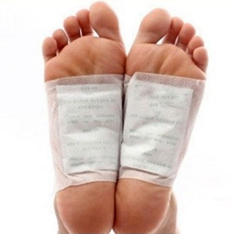 10pcs Detox Foot Pads Patches and Adhesive Organic Herbal Cleansing Patches(China (Mainland))