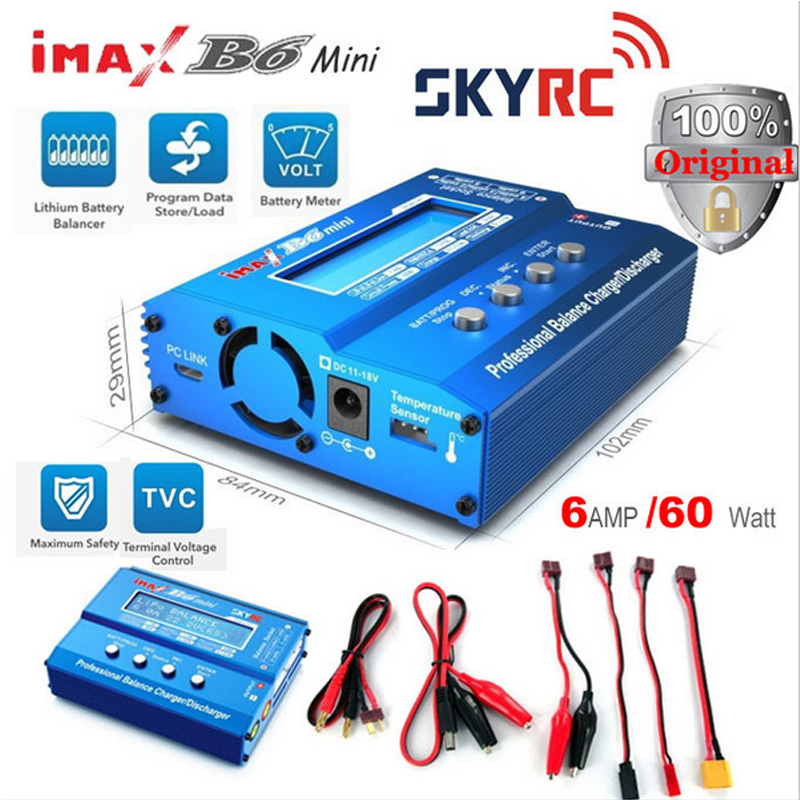 Original SKYRC Imax B6 60W Mini Professional Balance Charger Discharger For RC Helicopter Toys Quadcopter Battery Charging(Hong Kong)