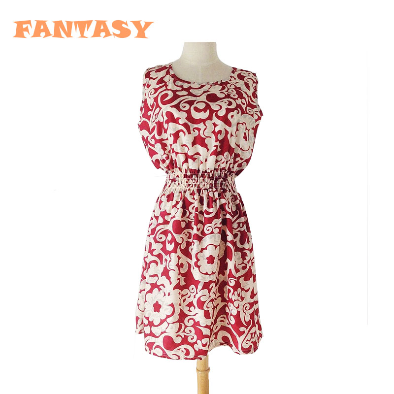 New 2015 Girls Dresses Chiffon Printed Sleeveless Teens Clothes Girls ,Fashion 13 Year Old Girl Dresses Kids Fromal LC50(China (Mainland))