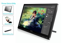 Huion 21.5 inch IPS HD Resolution Pen Display Tablet Monitor – GT-220 + Limited-time Gifts