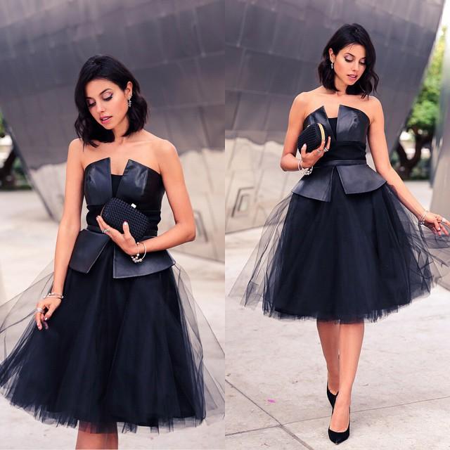 цена Коктейльное платье -- 2015 vestidos vestido GC630147 онлайн в 2017 году