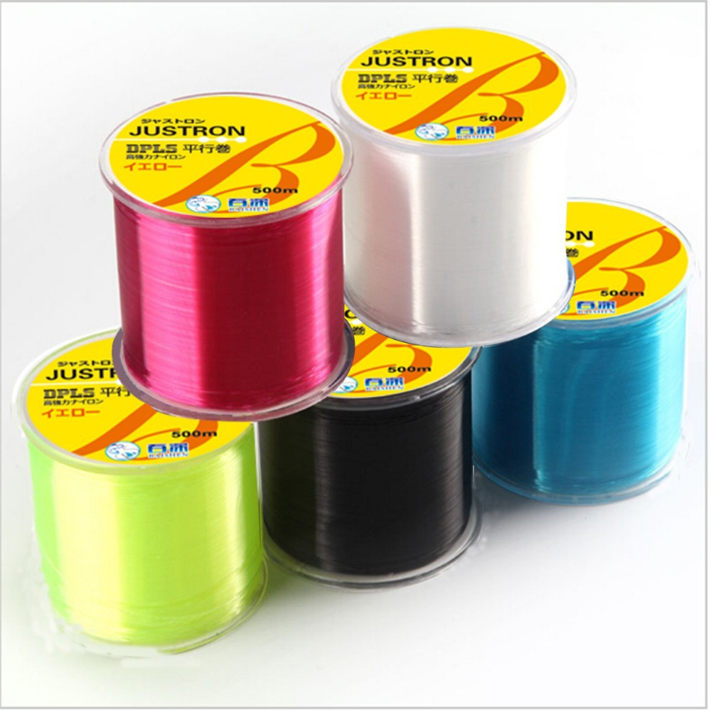 Available 500M Fluorocarbon Fishing Line 0.148-0.467mm 7-42LB Carbon Fiber Leader Line brand fly fishing line pesca(China (Mainland))