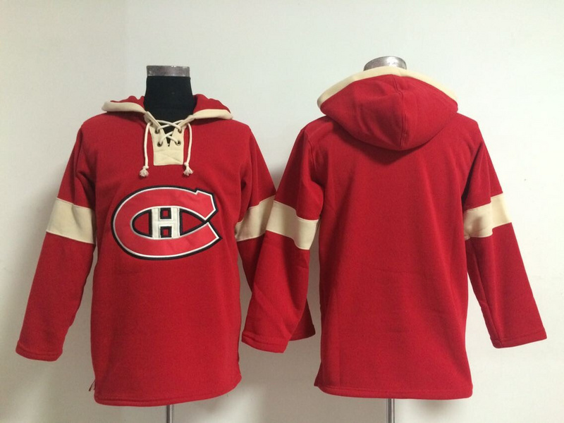 Hot Sale Cheap Montreal Canadiens Mens Ice Hockey Hoodies Blank Red Accept Mix Orders 387<br><br>Aliexpress