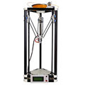 LCD display diy 3d printer kit High Precision delta 3d printer with one roll filament 8GB