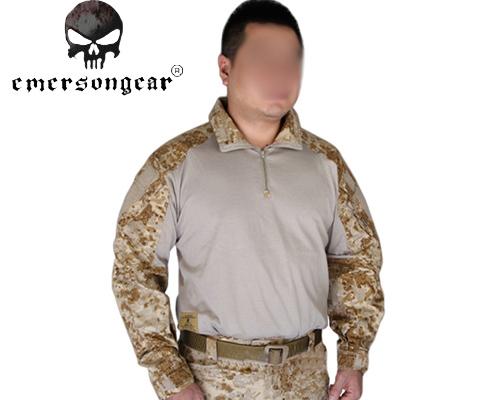 EMERSON G3 Combat Shirt Tactical Long Sleeve T-shirt BDU Military Army Airsoft Tshirt Outdoor Sports Painball Clothes EM9246