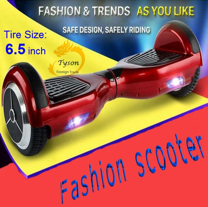 Fashion Safest Electric scooter Hoverboard unicycle skateboard Balanced car Smart two wheels self balancing Free ship - Easy Importer store