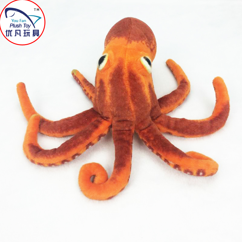 how to make octopus realistic plush