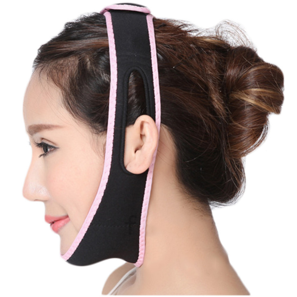 Face Shaper Relaxation Facial Slimming Band Face Lift Up Belt Reduce Double Chin Face Lift Mask Massage Face Slimming Belt(China (Mainland))