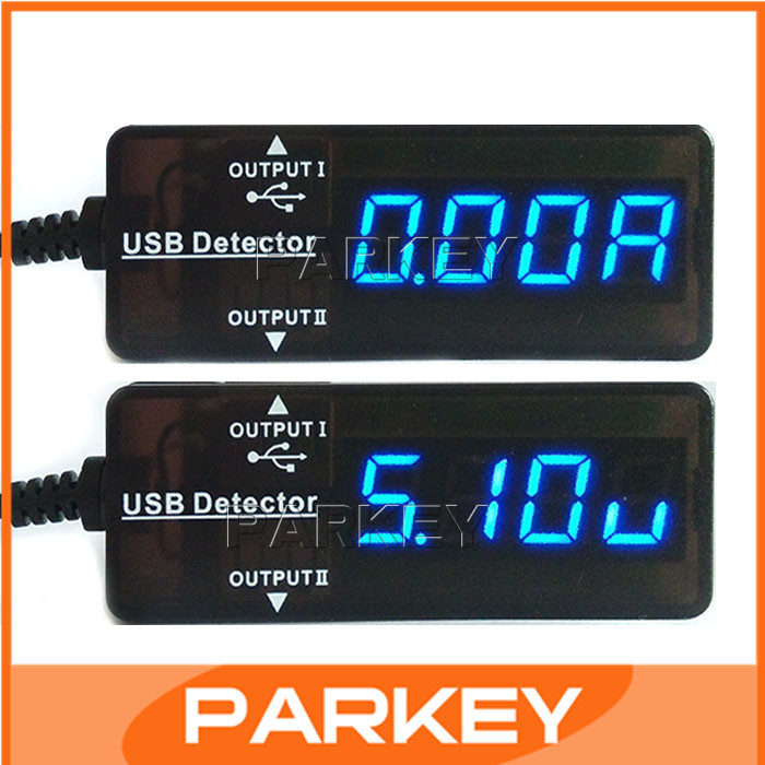 20pcs Dual USB Charger DC3.2-10V 0-3A LED Red/Blue Voltmeter Ammeter Apple Tablet Mobile Phone Samsung S4 USB devices #200953(China (Mainland))