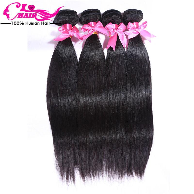 brazilian virgin hair straight 6a unprocessed virgin hair brazilian virgin hair extension 4 bundles 100% human hair weaving <br><br>Aliexpress
