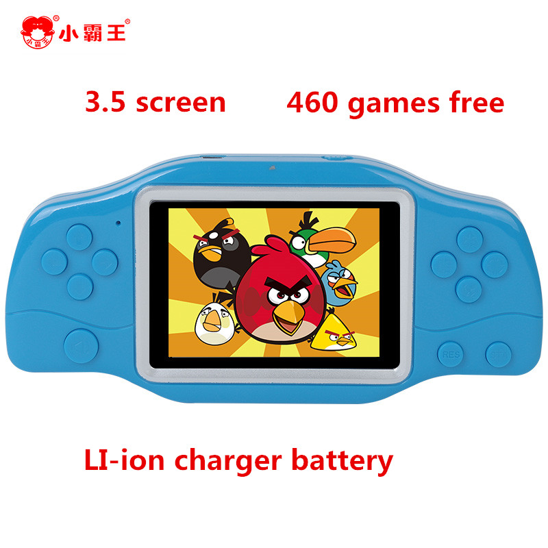 Original Handheld Game Console 3.5 inch Game Machine CoolBaby Built 460 classic Games super big screen charger lithium battery(China (Mainland))