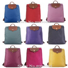 New arrival French brand shoulder bags beach waterproof nylon long straps ladies backpack Women Champagne bag Casual travel bag(China (Mainland))