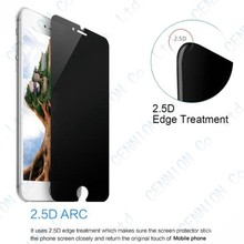 Privacy Anti-Spy Real Tempered Glass Screen Protector Film For iphone 6s 6 Cover Shield 50pcs with retail package