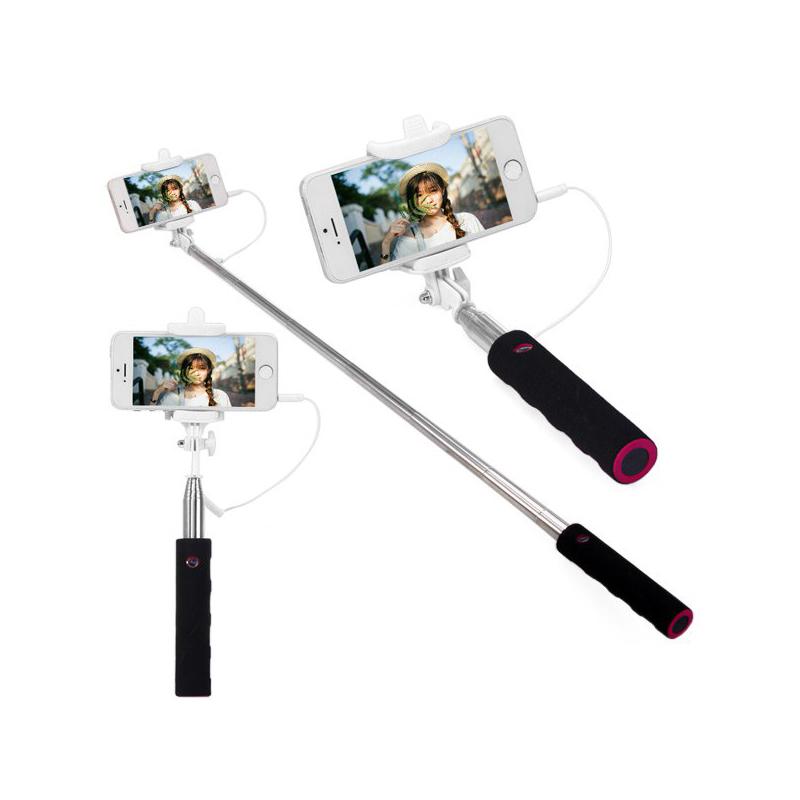 jack cable selfie stick connect rc selfie stretch monopod camera shutter with adjustable. Black Bedroom Furniture Sets. Home Design Ideas