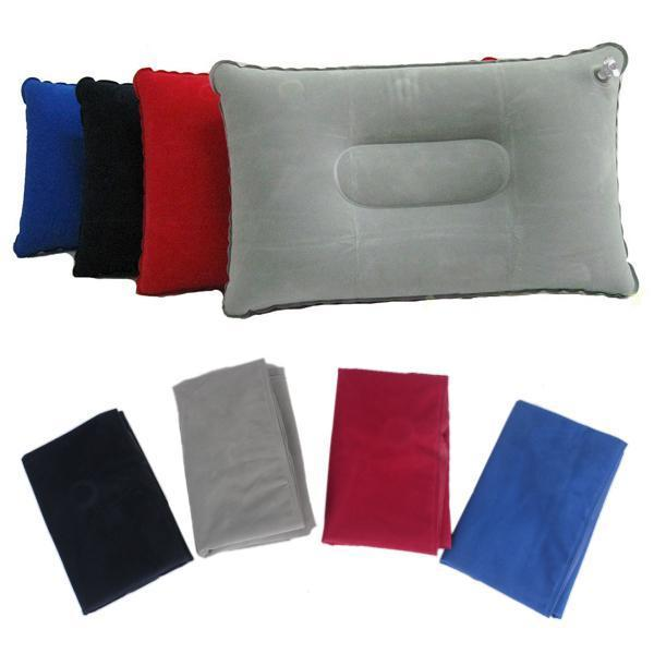 Inflatable Camping Pillow with Velvet Double Sided(China (Mainland))