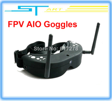 2014 Newest Free shipping Skyzone SKY01 FPV AIO Goggles 5.8GHz Dual Diversity 32 Channels Receiver With Head-Tracker f girl gift