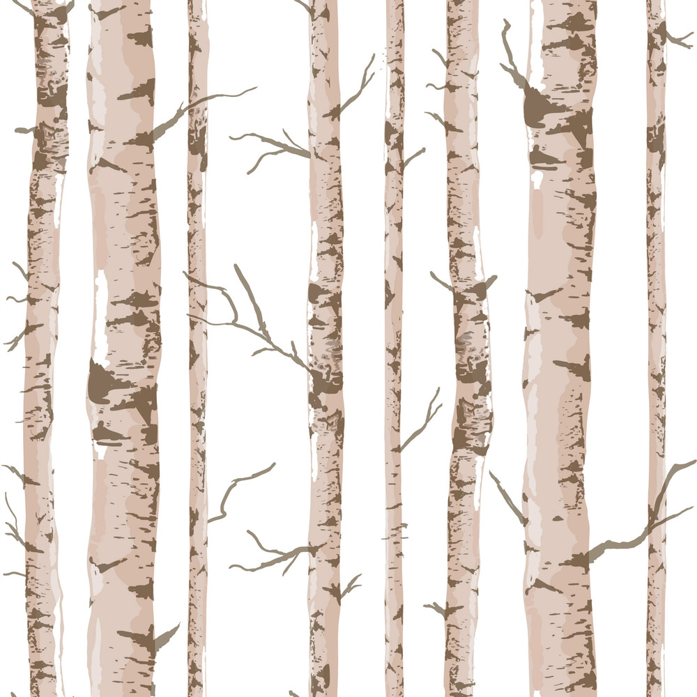 Art Interior Pastoral Style Birch Tree Pattern Vinyl Wall Paper Rolls 3d Wallpaper Wall Covering 3D Panel Papel De Parede AB5161(China (Mainland))