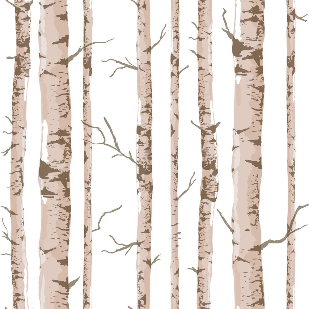 Bouleau arbre imprimer tissu promotion achetez des bouleau arbre imprimer tis - Papier peint motif bouleau ...