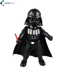 Brand Cute Version Star Wars Darth Vader Action Figure PVC Jedi Knight Model Collectible Model  Movies Fans Toys