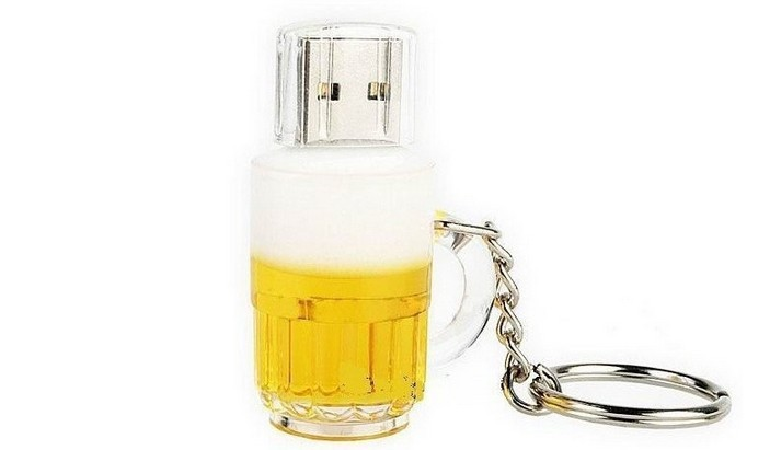 Promotion New arrival U disk mini pen drive beer cup usb flash drive pendrive 4gb 8gb 16gb 32gb beer cartoon 100% real capacity(China (Mainland))