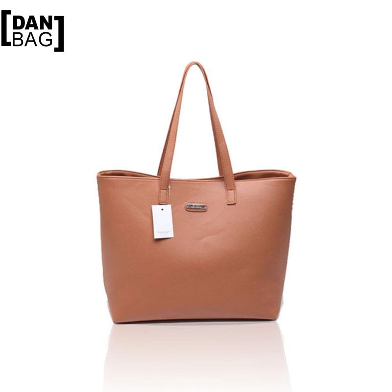 Hot Sale Brand Design MANGO Prodenia Candy Color Women PU Leather Handbag Shoulder Bag Fashion Style Large Capacity Tote 4 Color(China (Mainland))