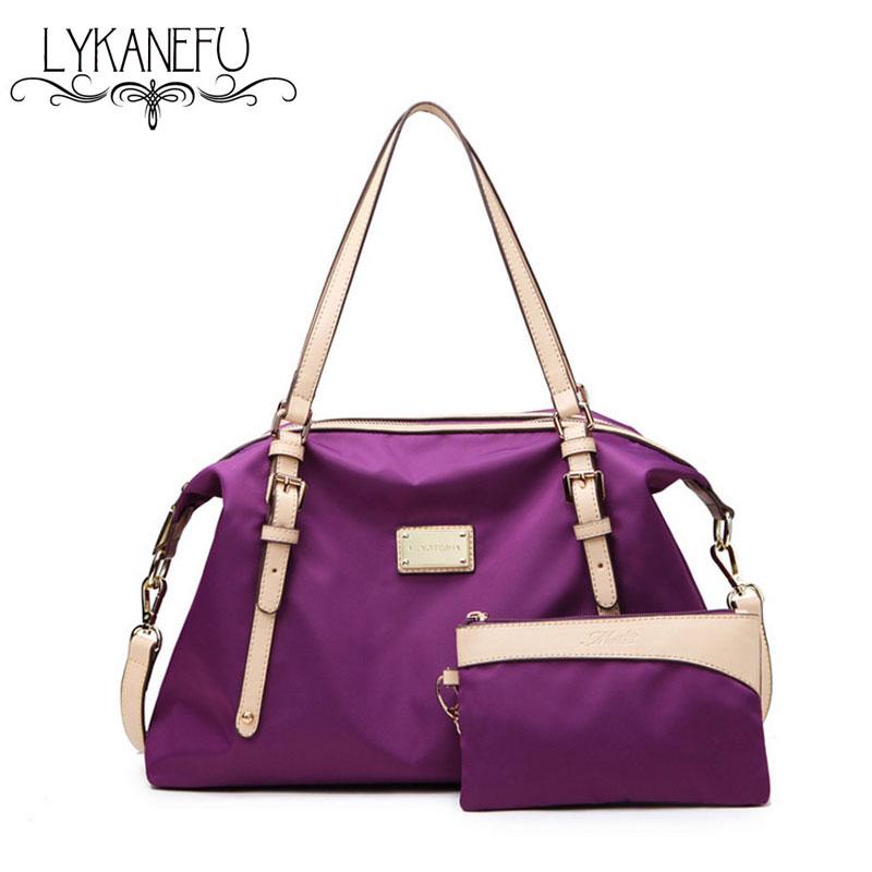 2016 New Nylon Shoulder Bags Women Handbag Casual Bag Women Tote Bag Vintage Bolsas Messenger Large Capacity Travel Bags Purses<br><br>Aliexpress