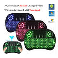 Backlit i8 Air Mouse Mini Wireless Keyboard Touchpad Remote Control for Android TV BOX X92 Z4