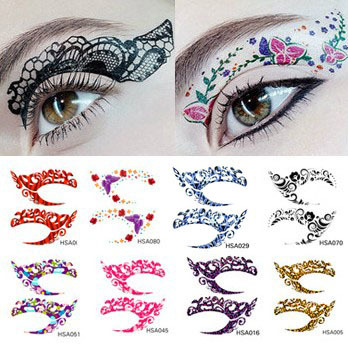 50pairs Eye Shadow Sticker Decal Double Eyelid Makeup Tools Cosmetic Products Free Shipping