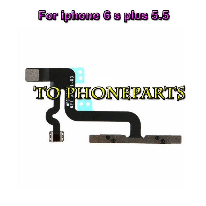 50pcs Replacement Part for iPhone 6S Plus 5.5 Volume Button mute silent Flex Cable Ribbon Assembly repair parts free shipping(China (Mainland))