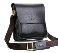 New 2015 fashion men bags, men genuine leather messenger bag, free shipping, Lowest whole network