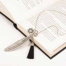 """""""Freedom"""" Fashion Tassel Pendant Necklace Feather  Necklace Link Chain Silver Tone 73cm(28 6/8"""")long Black 1 Piece(China (Mainland))"""