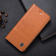 Buy Vintage Genuine Leather Case ZTE Nubia Z7 MAX Luxury Mobile Phone Magnet Cowhide Leather Cover for $16.24 in AliExpress store